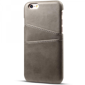 Husa Senno Tailor Leather Wallet, Apple iPhone 6/6S-Grey
