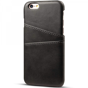 Husa Senno Tailor Leather Wallet, Apple iPhone 6/6S-Black