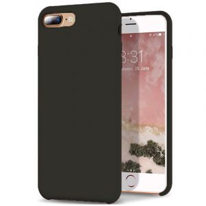 Husa Senno Neo Full Silicone, Apple iPhone 7 Plus/8 Plus-Black