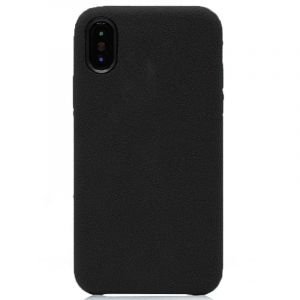 Husa Senno Tailor Alcantara, Apple iPhone X/XS-Black