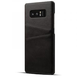 Husa Senno Tailor Leather Wallet, Samsung Note 8-Black