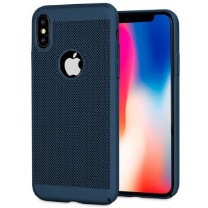 Husa Senno Rock Slim Air Plastic, Apple iPhone X/XS-Dark Blue