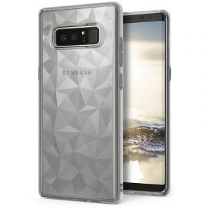 Husa Senno Pure Flex Slim Diamond TPU, Samsung Note 8-Transparent Grey