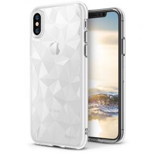 Husa Senno Pure Flex Slim Diamond TPU, Apple iPhone X/XS-Transparent