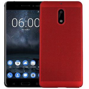 Husa Senno Rock Slim Air Plastic, Nokia 3-Red