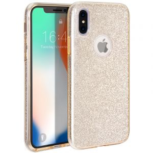 Husa Senno Magic Glitter, Apple iPhone X/XS-Gold