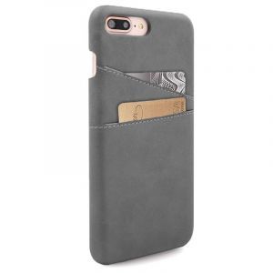Husa Senno Tailor Leather Wallet, Apple iPhone 7 Plus/8 Plus-Grey