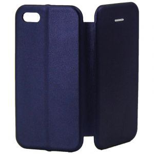 Husa Senno Tip Flip Leather Cover, Apple iPhone 6/6S-Dark Blue