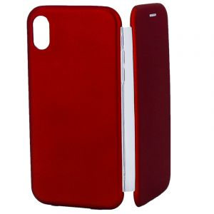 Husa Senno Tip Flip Rubber Cover, Apple iPhone XS Max-Red
