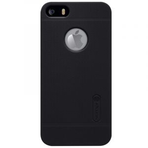Husa Nillkin Super Frosted Shield, Apple iPhone 5/5S/SE-Black