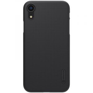 Husa Nillkin Super Frosted Shield, Apple iPhone XR, Cover Logo-Black