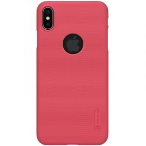 Husa Nillkin Super Frosted Shield, Apple iPhone XS Max-Red