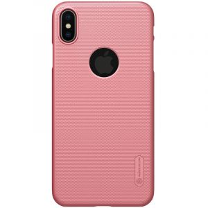 Husa Nillkin Super Frosted Shield, Apple iPhone XS Max-Light Pink