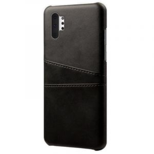 Husa Senno Tailor Leather Wallet, Samsung Note 10 Plus-Black