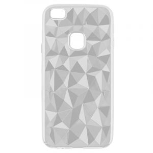 Husa Senno Pure Flex Slim Diamond TPU, Huawei P9 Lite-Transparent Grey