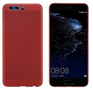 Husa Senno Rock Slim Air Plastic, Huawei P10 Plus-Red