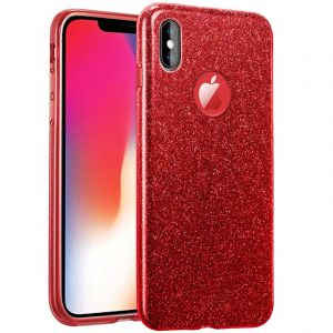Husa Senno Magic Glitter, Apple iPhone X/XS-Red