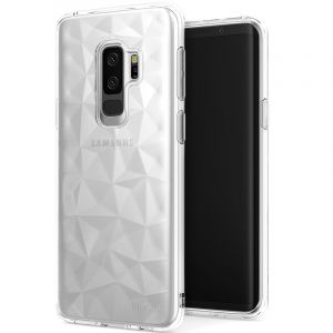 Husa Senno Pure Flex Slim Diamond TPU, Samsung S9 Plus-Transparent