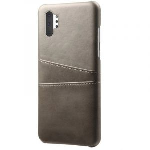 Husa Senno Tailor Leather Wallet, Samsung Note 10 Plus-Grey